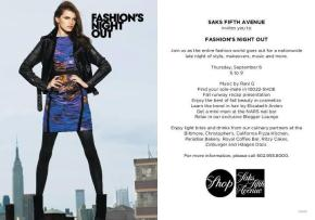 Biltmore Fashion Park : Events : Fashion's Night Out